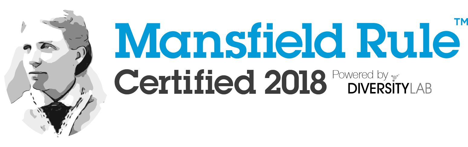 2018 Mansfield Certified Law Firms Diversity Lab